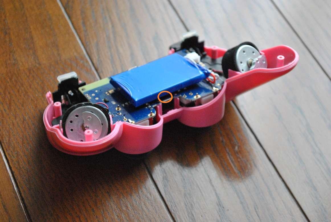 PS3コントローラーの基盤を外す1