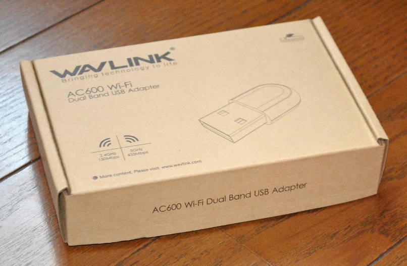 11ac対応無線LAN子機「WL-WN691A1」の外箱