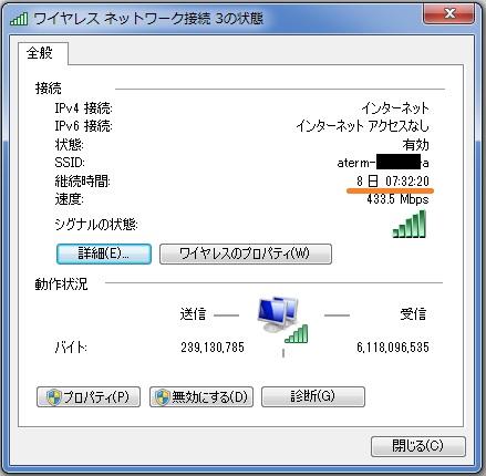 11ac対応無線LAN子機「WL-WN691A1」の安定感を示す情報