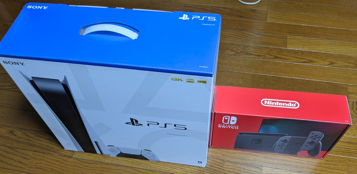 PS5とswitch比較